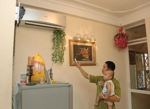 Điều hòa chạy tốn điện do cách bố trí nội thất?